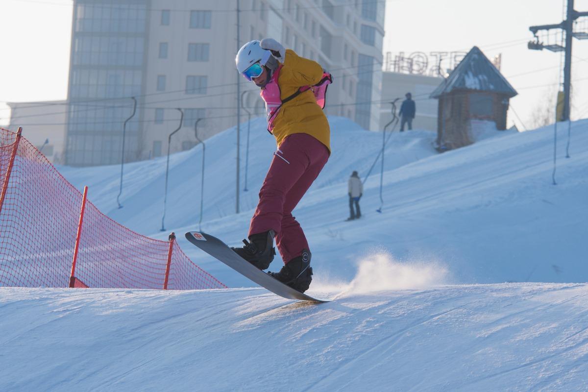 V и VI этапы Кубка России по сноуборд-кроссу