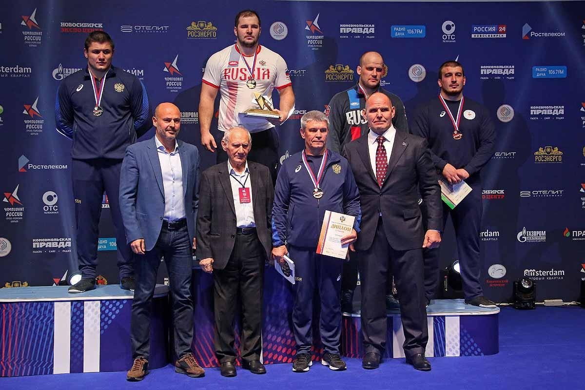 Чемпионат России по греко-римской борьбе.
