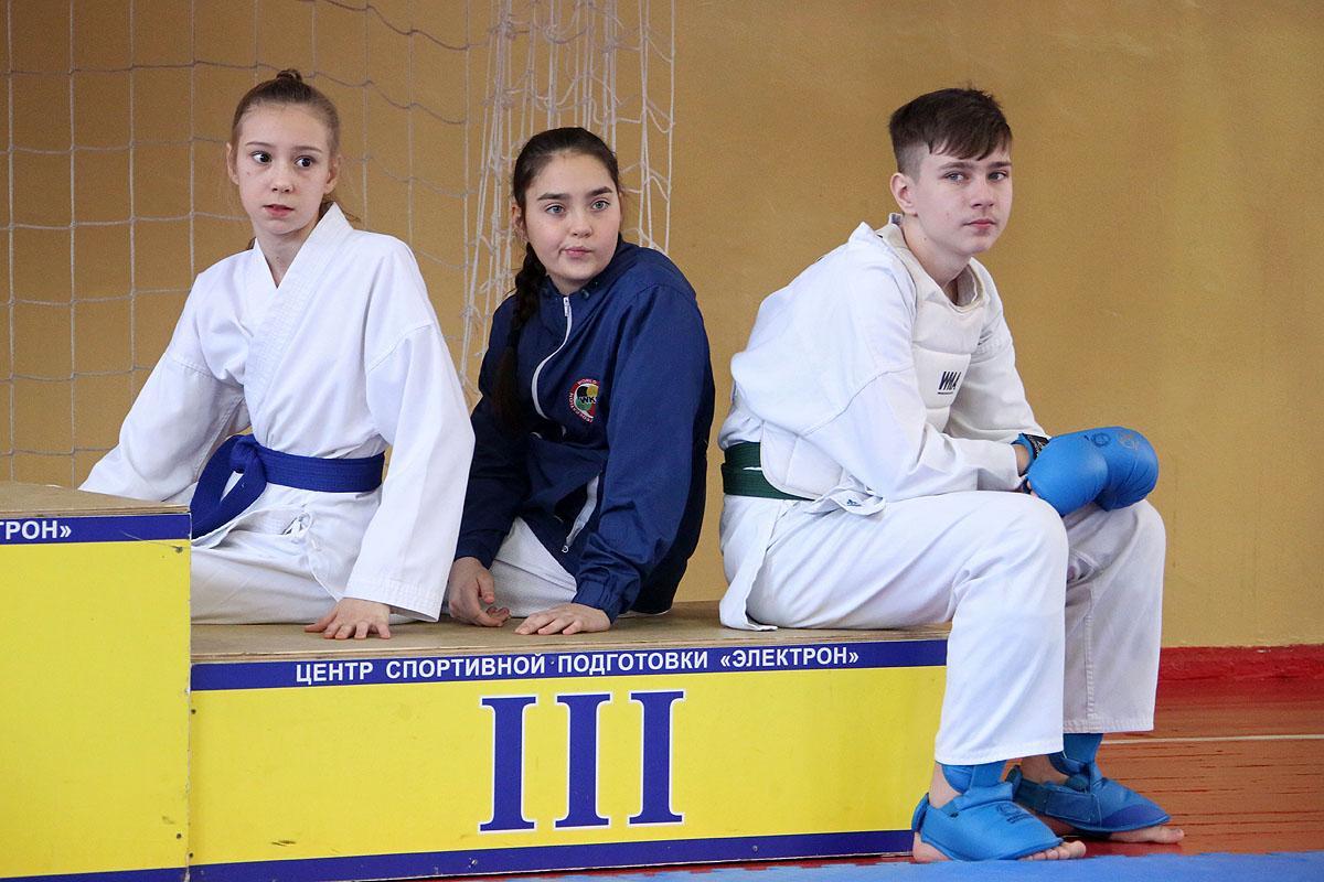 Соревнования по каратэ Первые старты