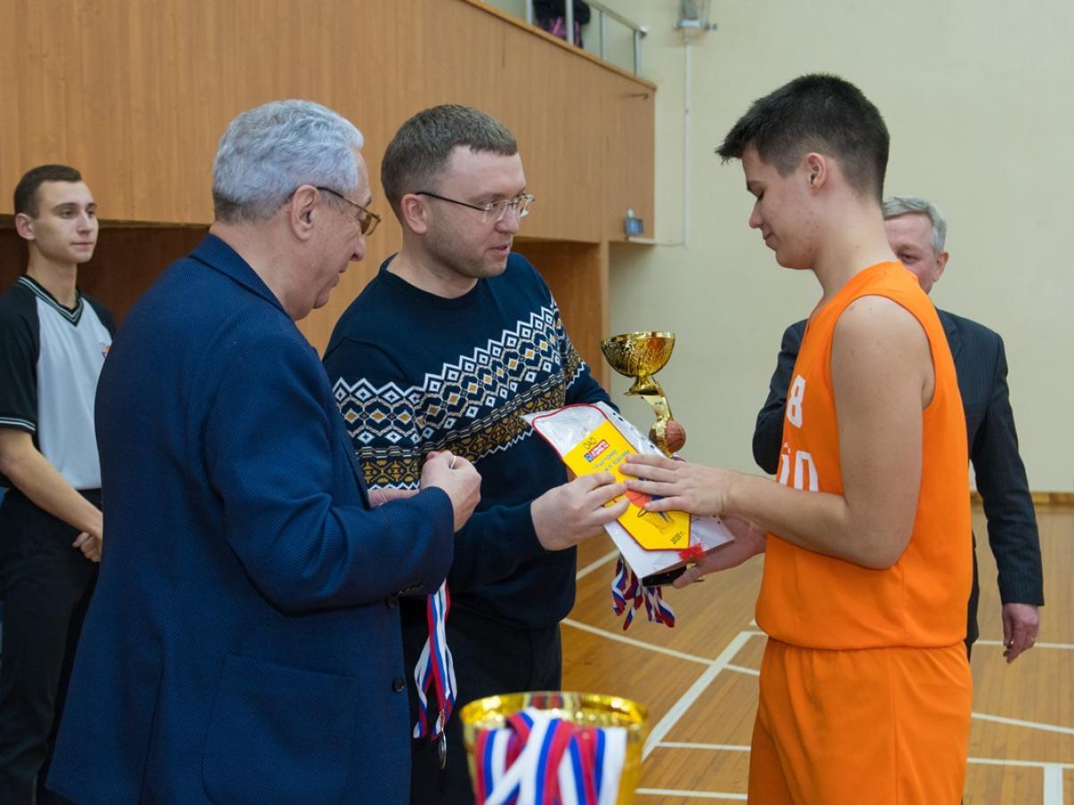 Турнир по баскетболу среди юношеских команд Новосибирска, посвященный Герою Социалистического труда Михаилу Королёву