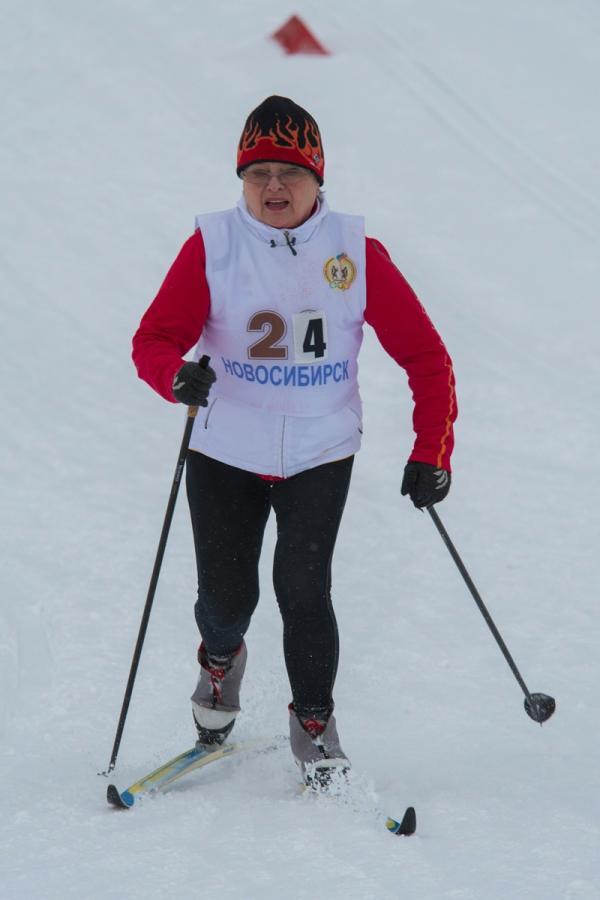 IX фестиваль «Через спорт - к активному долголетию» среди людей пожилого возраста (лыжные гонки)