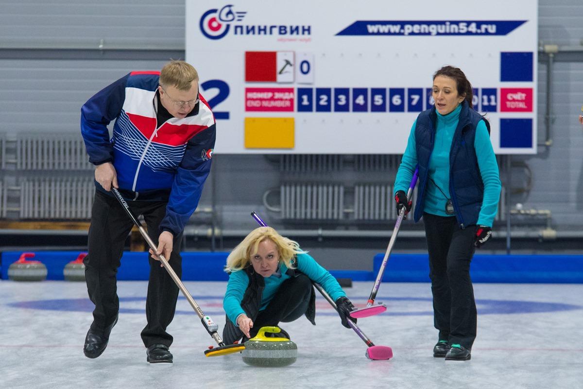 «XXVIII Зимняя спартакиада» Новосибирска. Керлинг