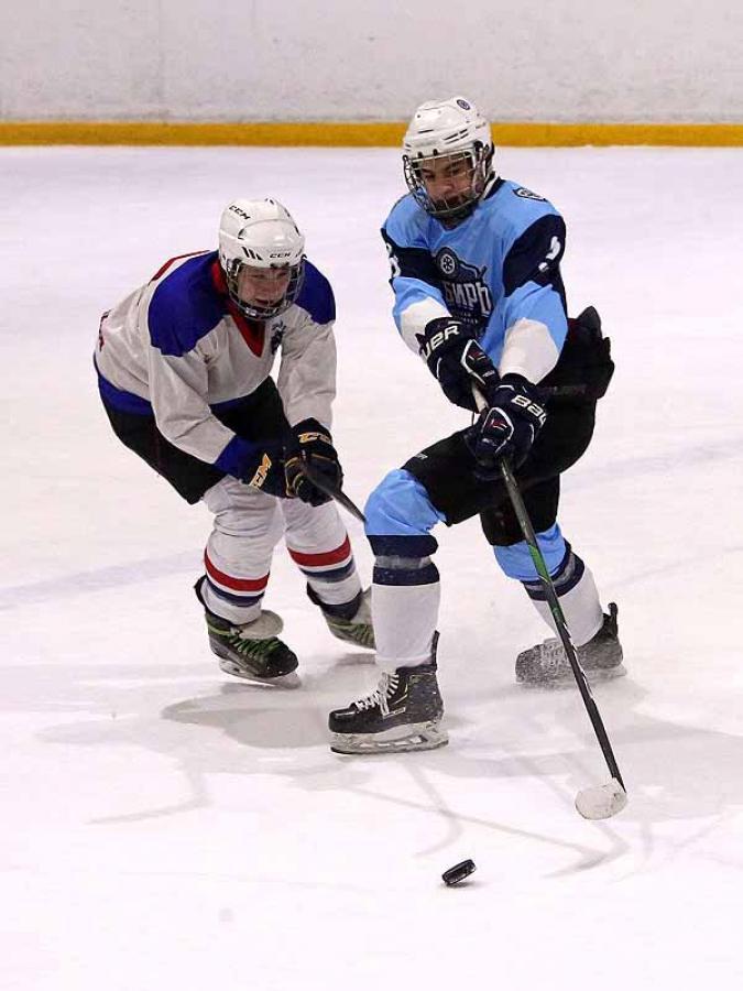 Городская зимняя спартакиада. Хоккей.