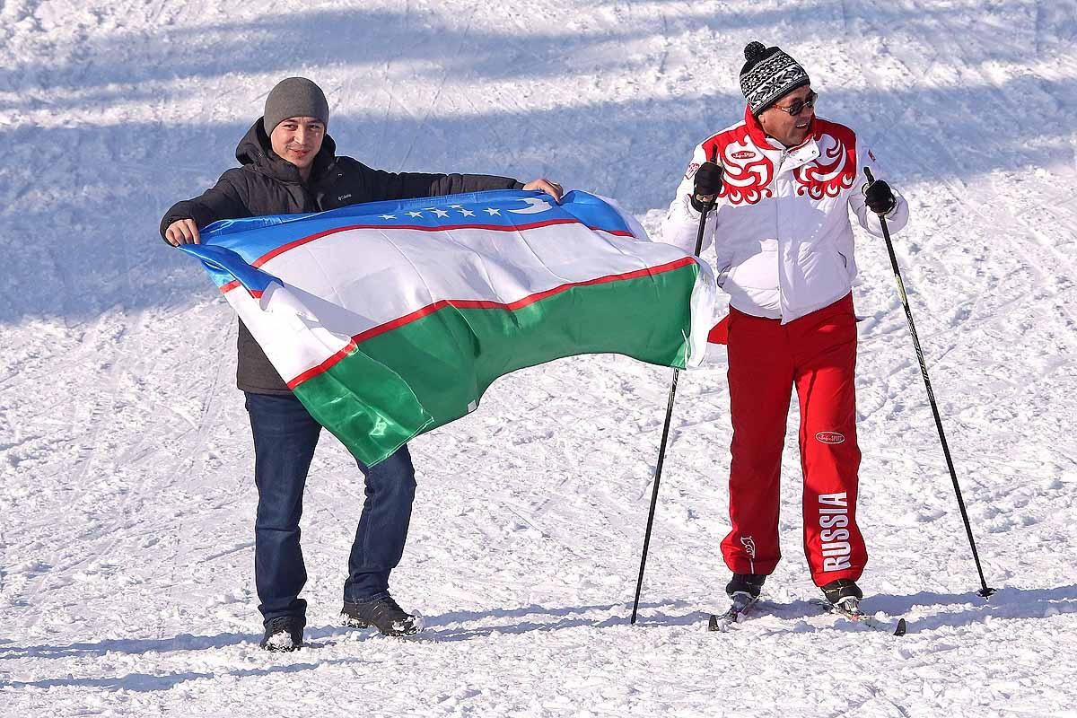 Городская зимняя спартакиада. Лыжные гонки.