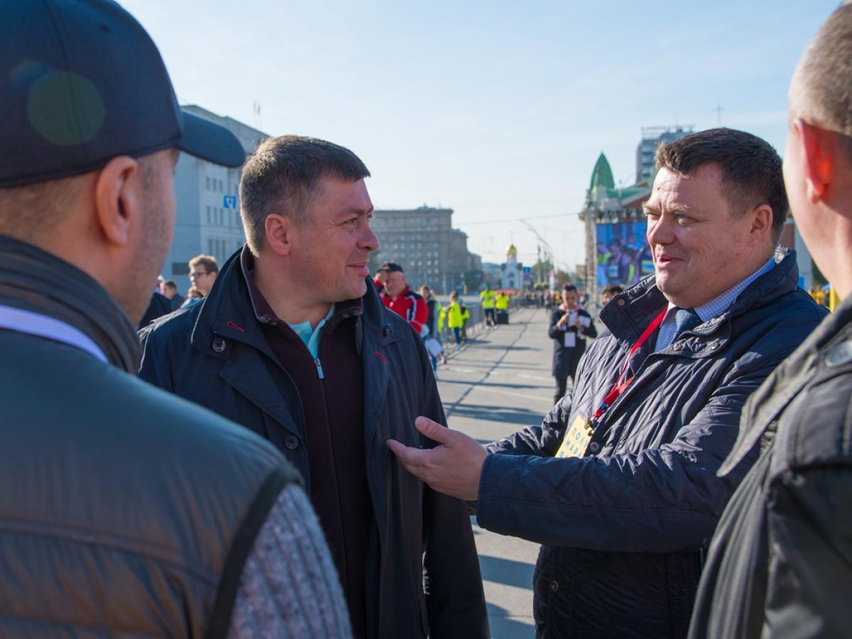 Сибирский фестиваль бега - полумарафон Раевича