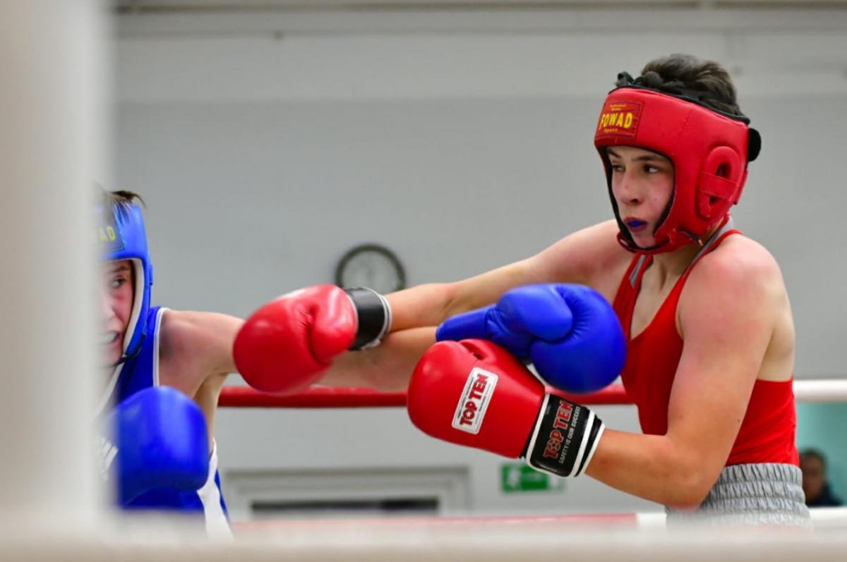Первенство СШОР по боксу