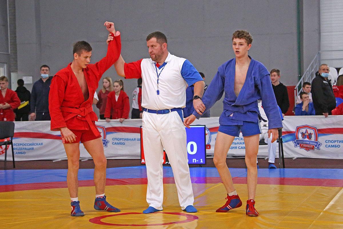 Чемпионат и первество Новосибирской области по  самбо