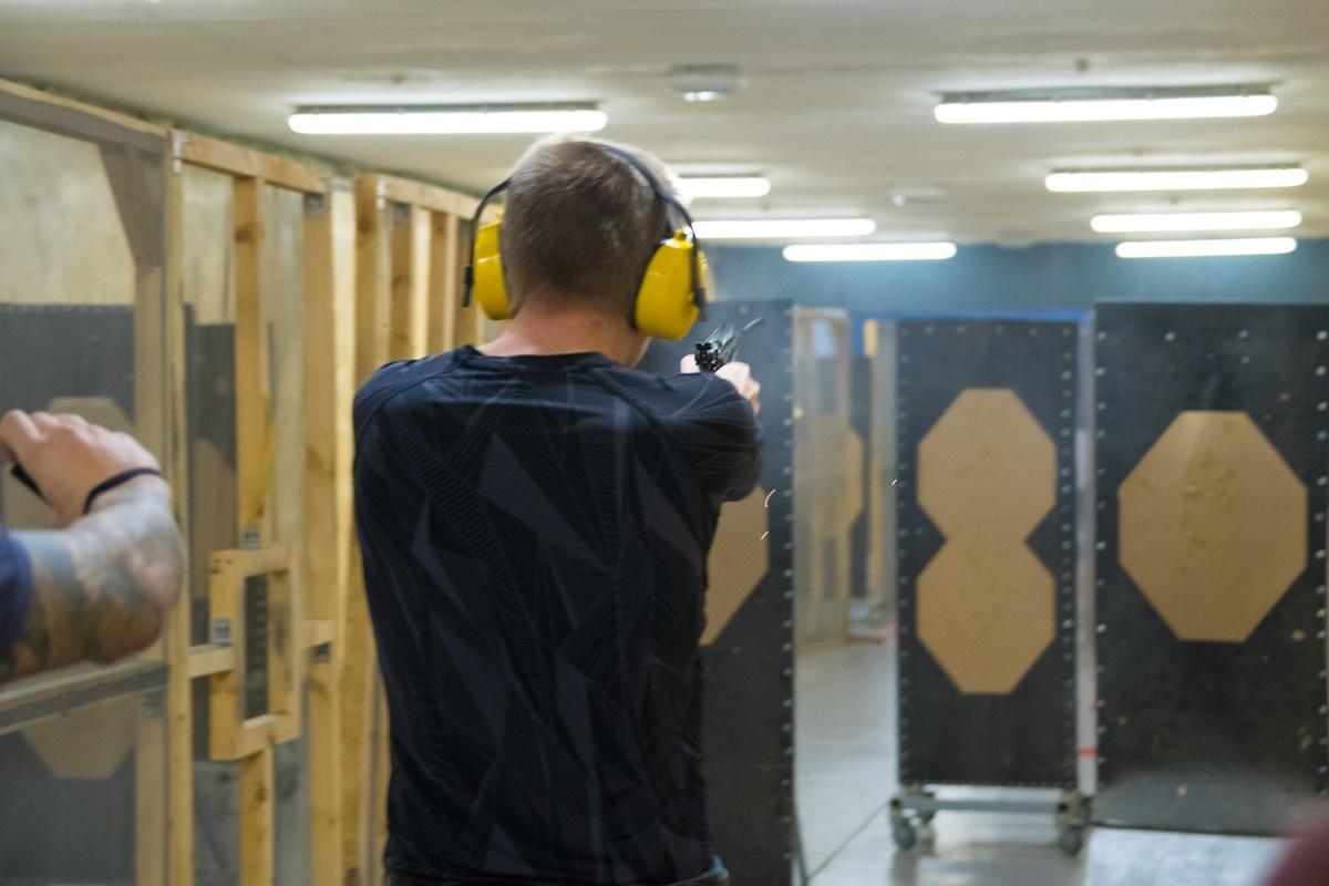 Чемпионат города Новосибирска по практической стрельбе из пистолета.