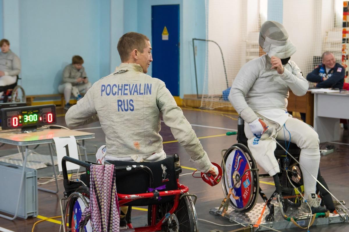Всероссийские соревнования по фехтованию. Спорт лиц с поражением ОДА