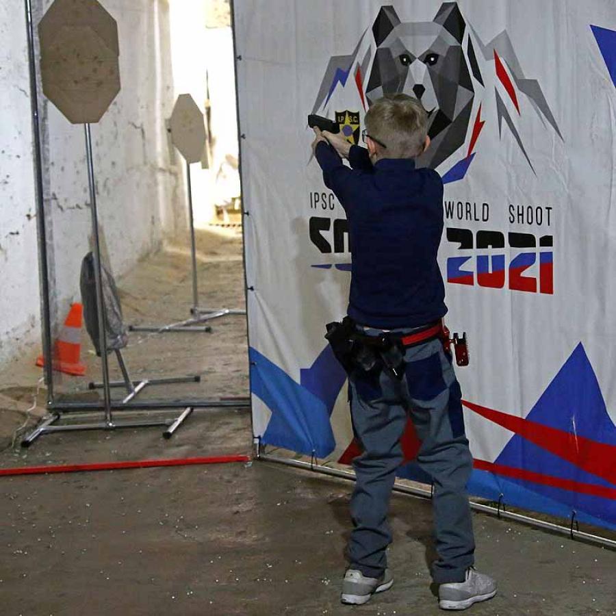 Кубок детско-юношеской лиги по практической стрельбе