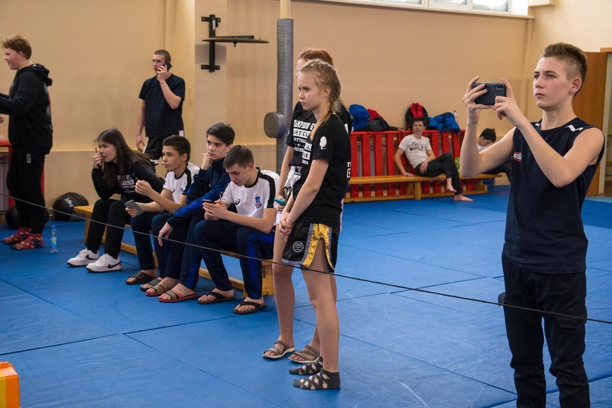 Первенство области по тайскому боксу