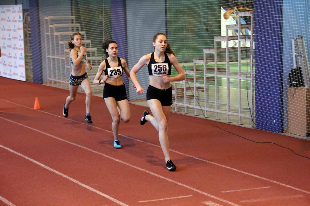 Чемпионат и первенство Новосибирска по легкой атлетике в закрытых помещениях.