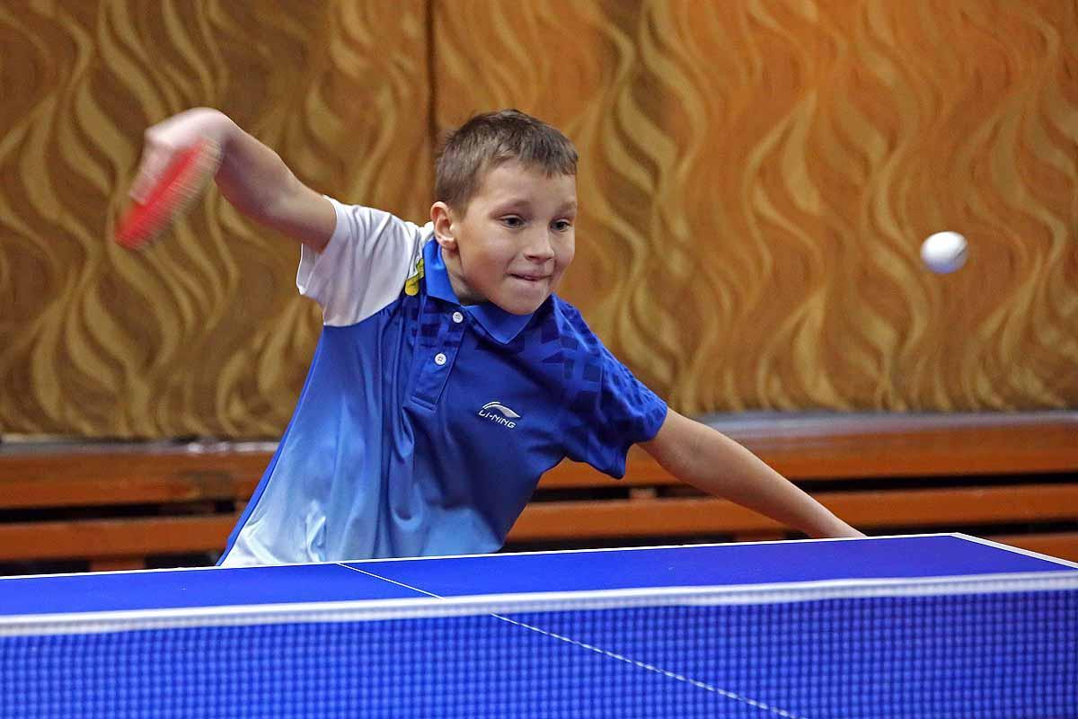 Первенство Новосибирска по настольному теннису.