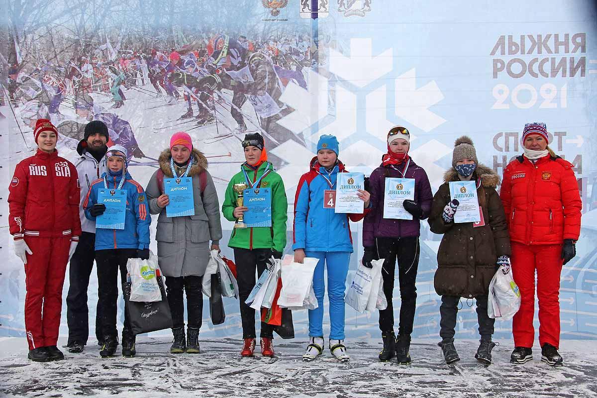 Лыжня России (альбом 1)