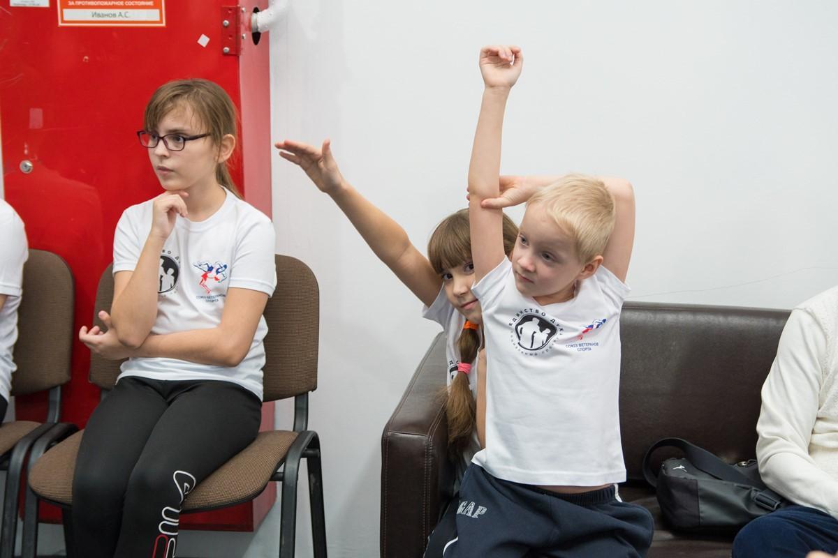 Мастер-класс бойца Александра Шлеменко