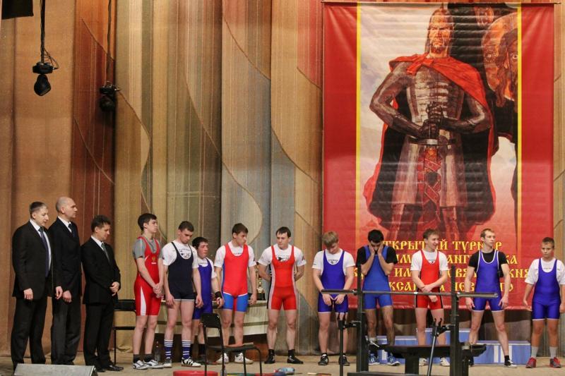 IV открытый турнир по жиму штанги лежа