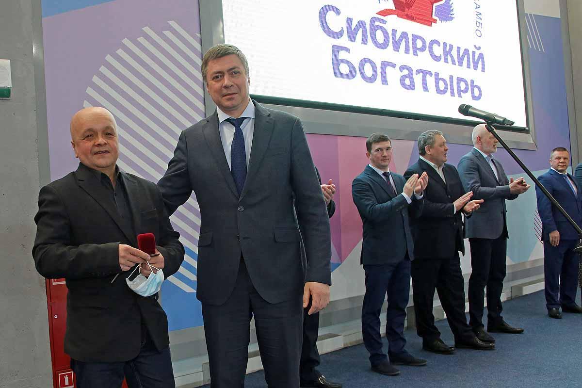 Всероссийские соревнования по самбо