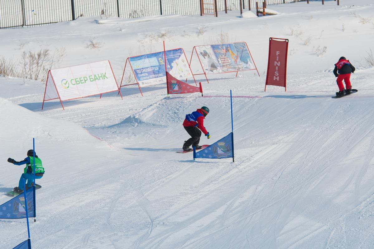 Сноуборд кросс