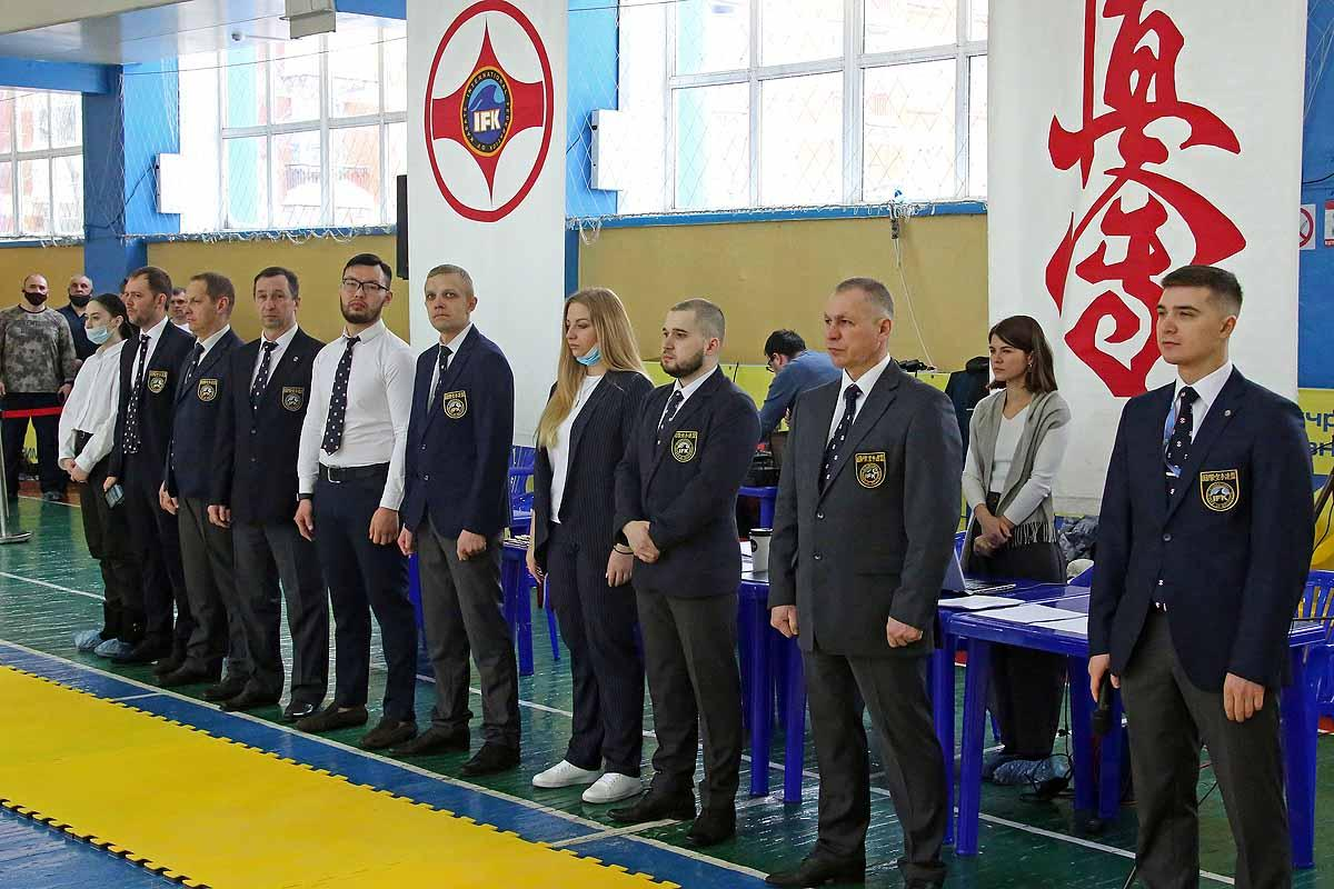 Чемпионат и первенство Новосибирска по киокусинкай.