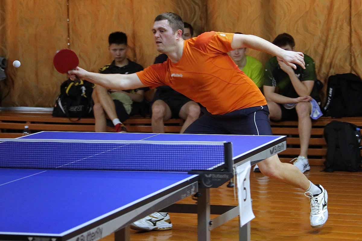 Чемпионат Новосибирска по настольному теннису. Команды.