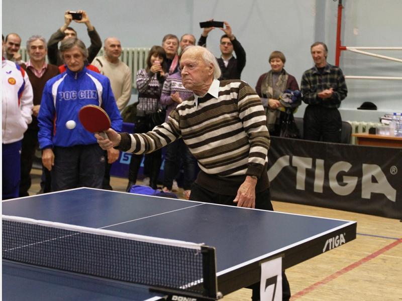 Открытое первенство Новосибирской области по настольному теннису среди ветеранов