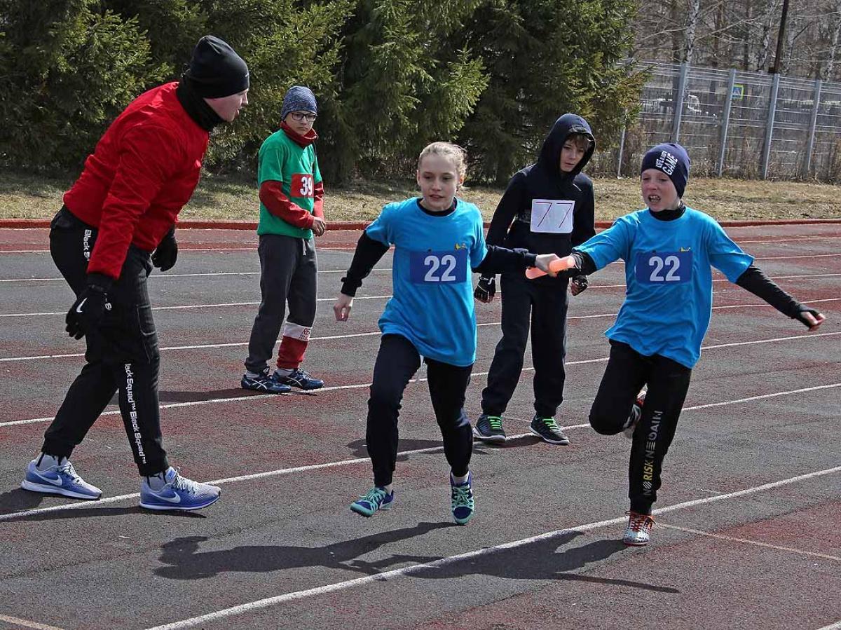 56-я легкоатлетическая эстафета Кировского района.