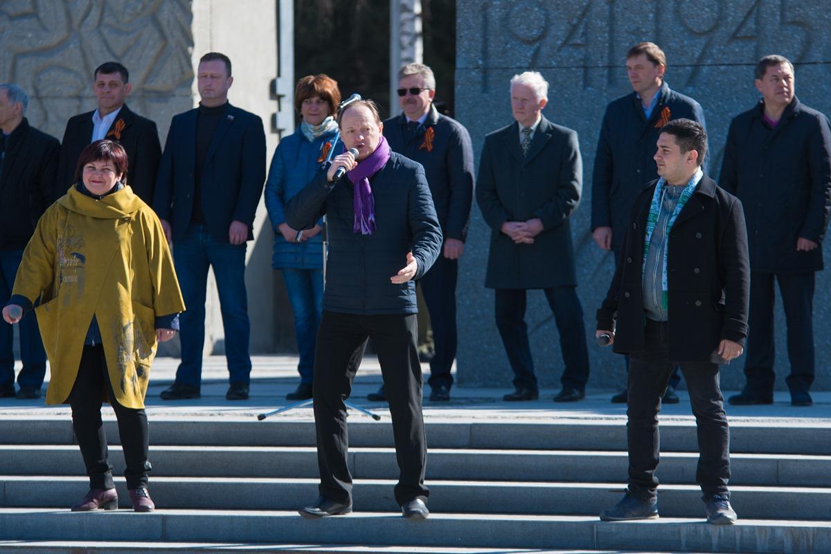 72-ая легкоатлетическая эстафета памяти воинов-сибиряков, погибших в годы Великой Отечественной войны