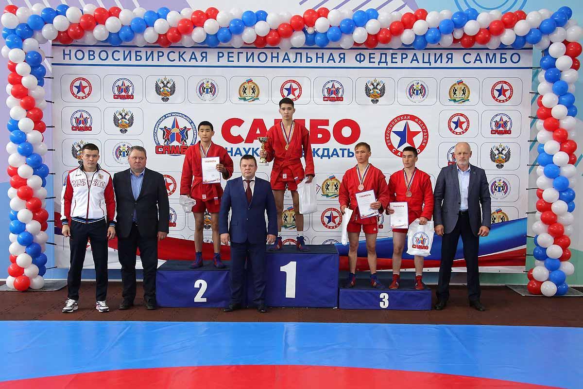 Кубок мэра Новосибирска по боевому самбо.