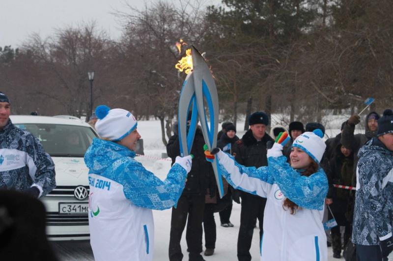 Эстафета Паралимпийского Огня