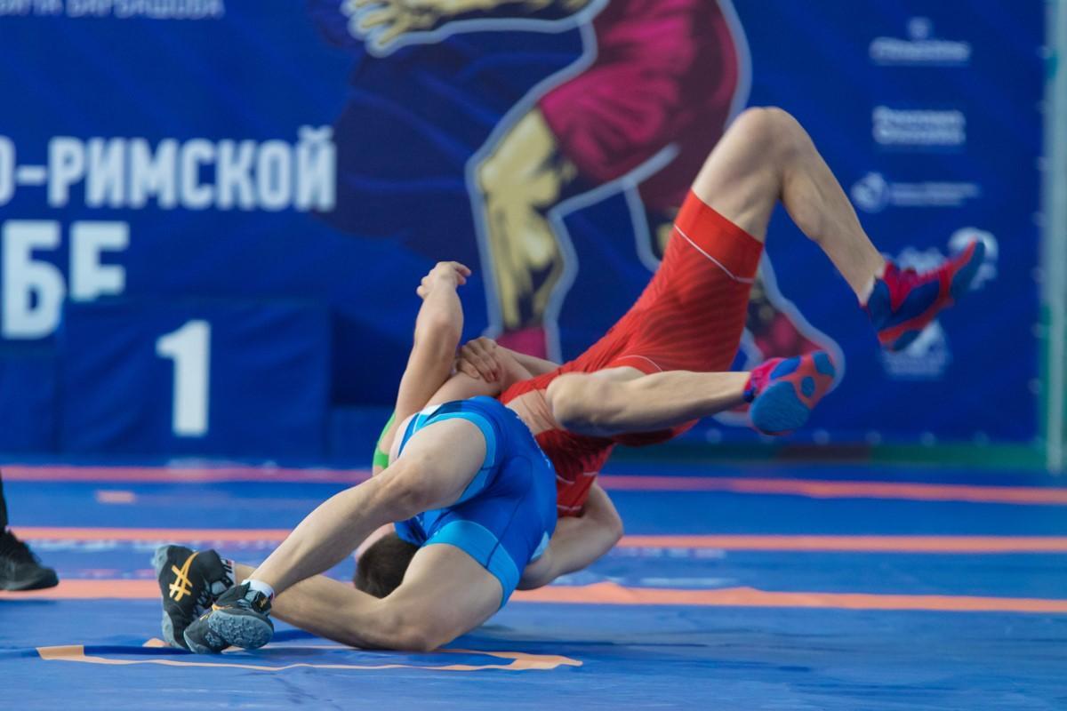 Турнир по греко-римской борьбе посвященный П. Барбашову