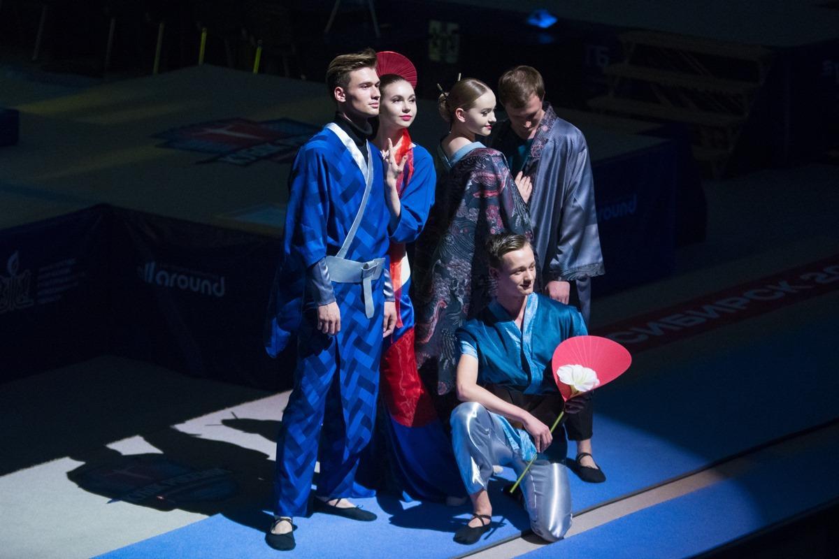 Открытие Кубок России по спортивной гимнастике