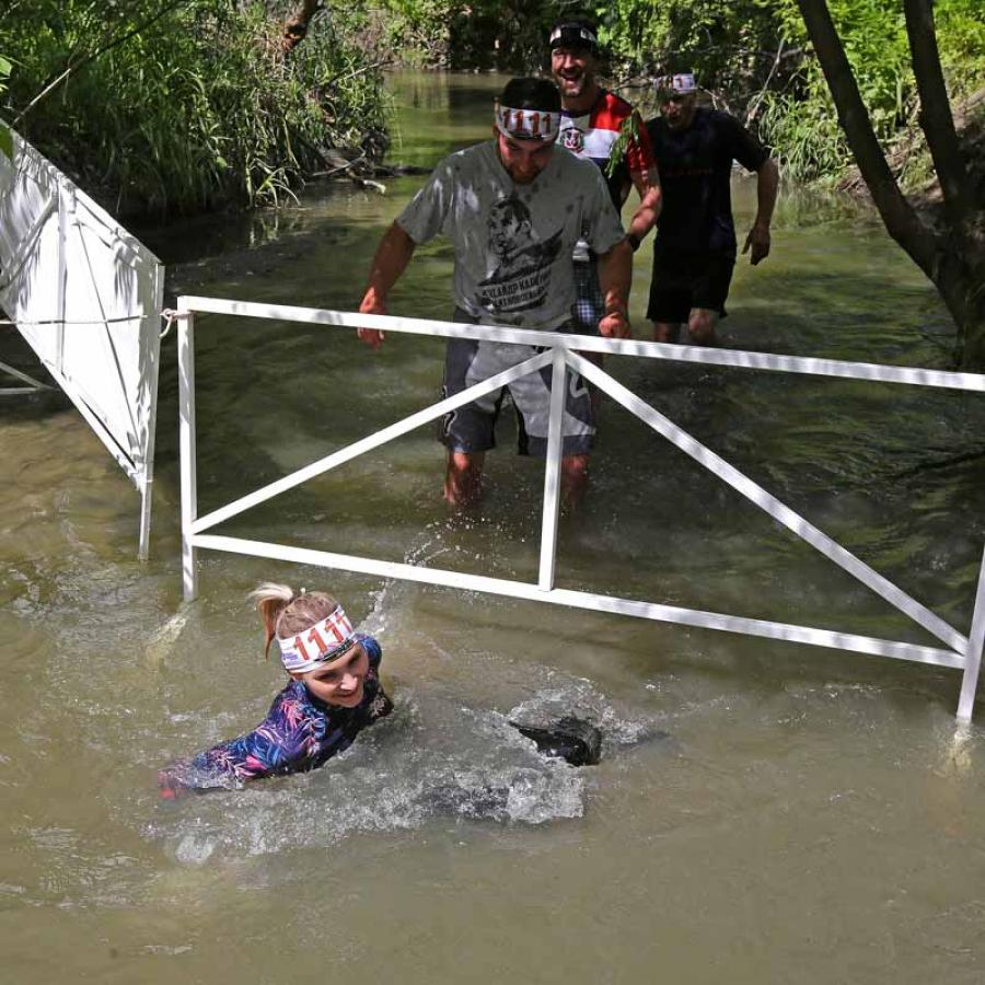 Новое в СИБИРСКОМ ПРЕДЕЛЕ - преодоление водных препятствий