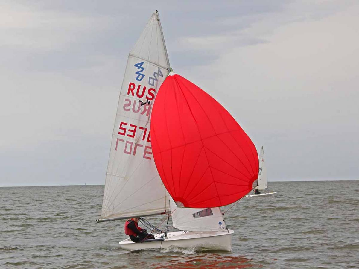 Первенство Новосибирска по парусному спорту
