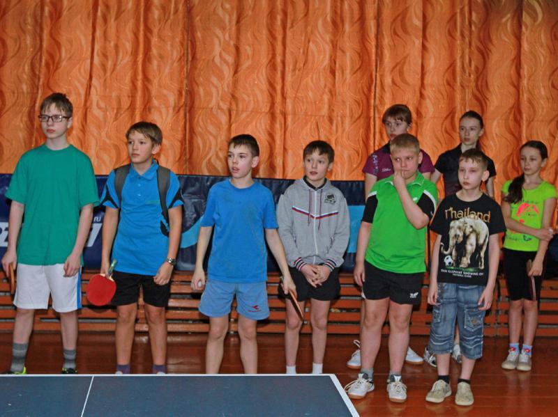 Турнир среди мальчиков и девочек 1999-2002 г.р.