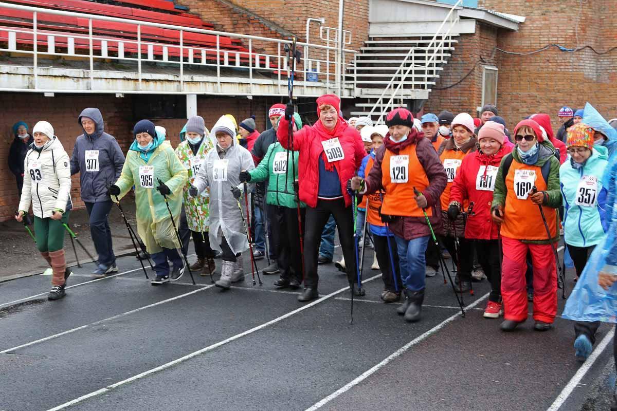Соревнования по скандинавской ходьбе