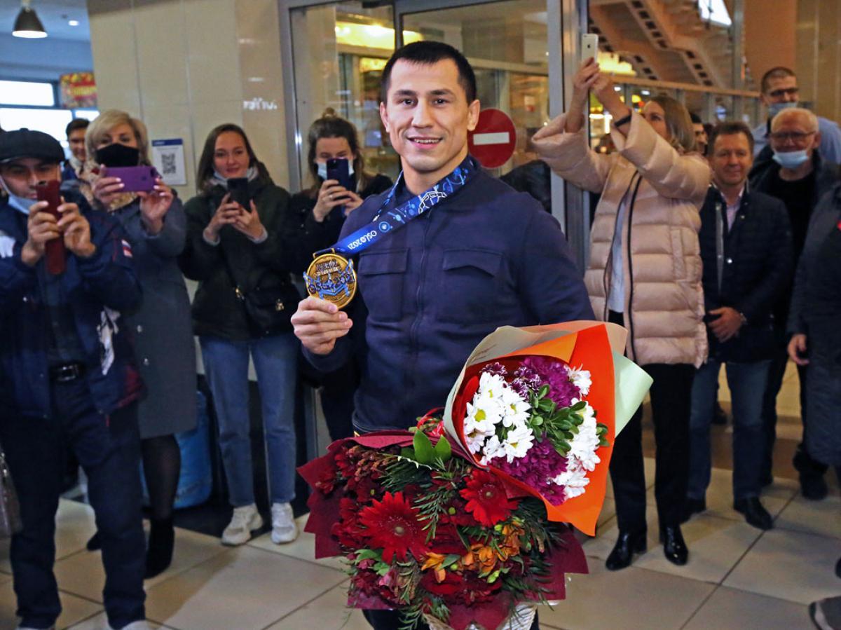 Встреча Романа Власова в Толмачево