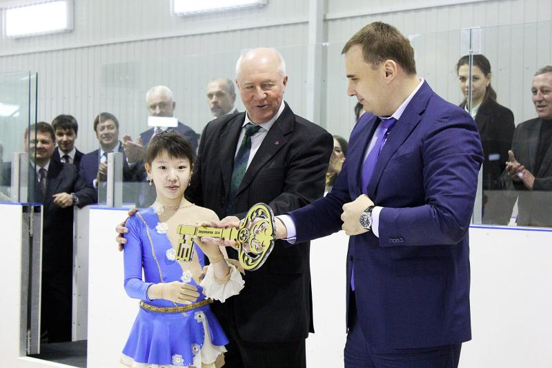Открытие ледовой арены РОДНИК
