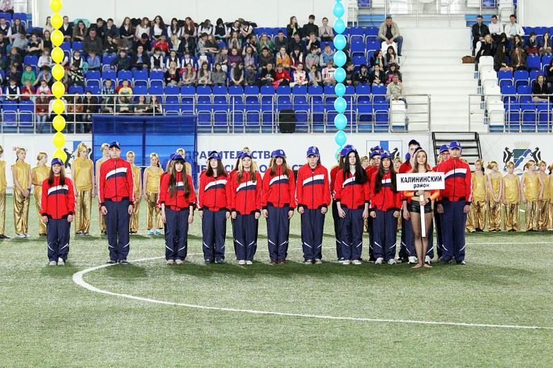 Летние спортивные игры школьников. Открытие