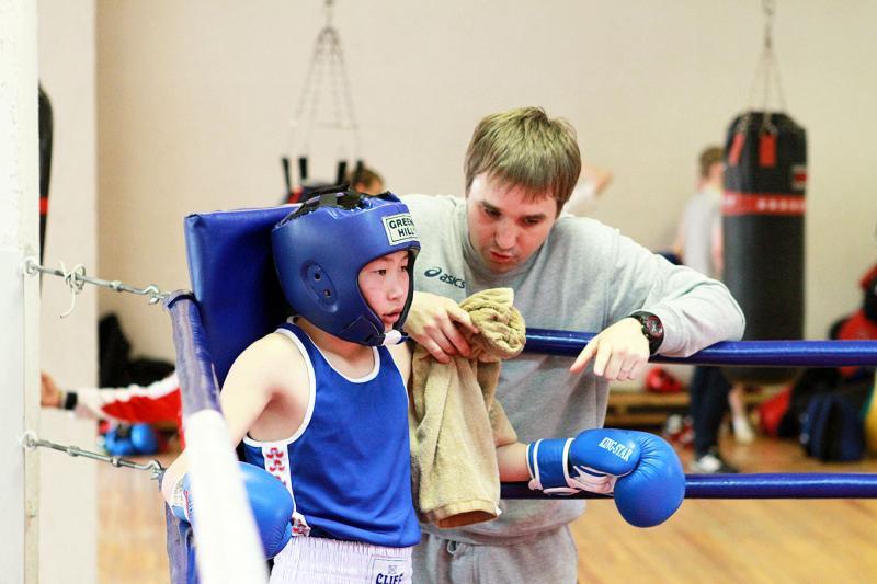 Летние спортивные игры школьников. Бокс