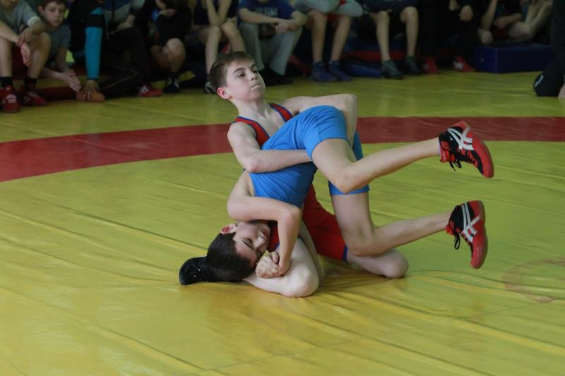 Летние спортивные игры школьников. Вольная борьба