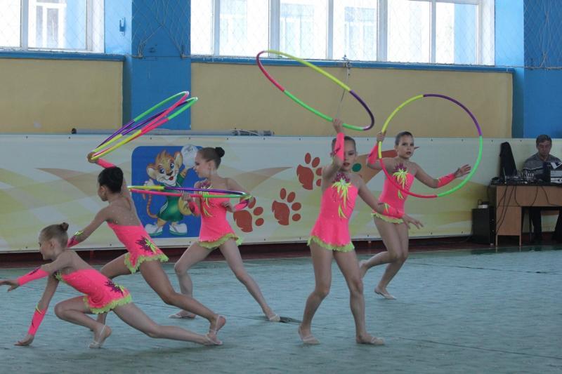 Летние спортивные игры школьников. Художественная гимнастика