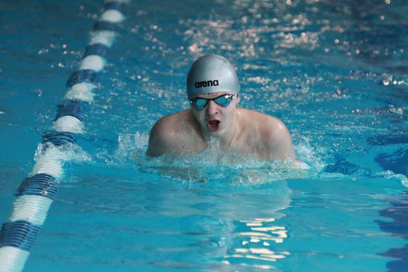Летние спортивные игры школьников. Плавание