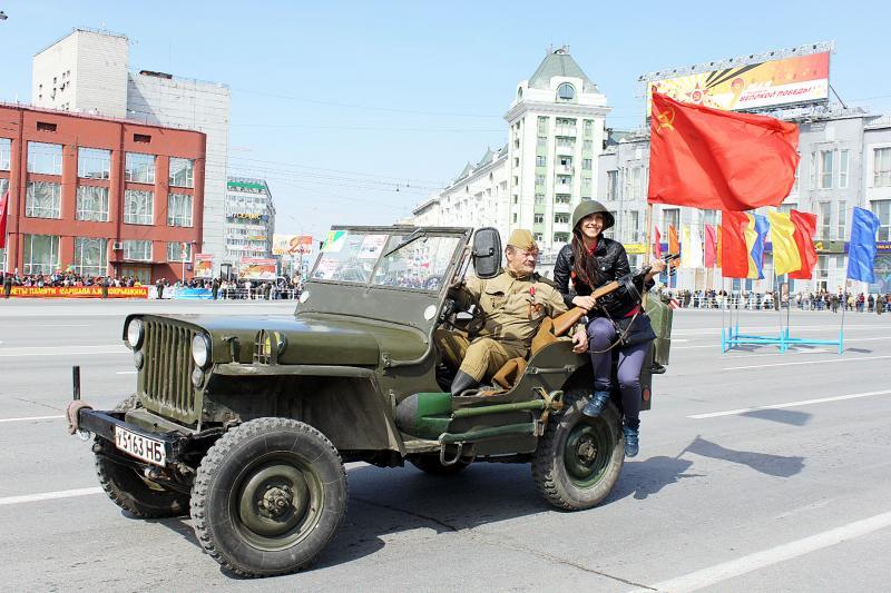 68-ая городская легкоатлетическая эстафета, посвященная 69-летию Победы