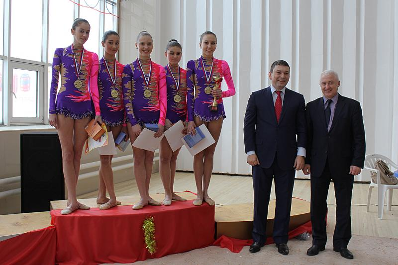 Кирилл Колончин и Вячеслав Братцев на церемонии награждения