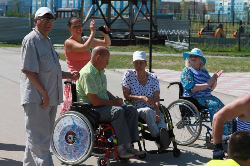 Открытый городской физкультурно-спортивный фестиваль на колесах