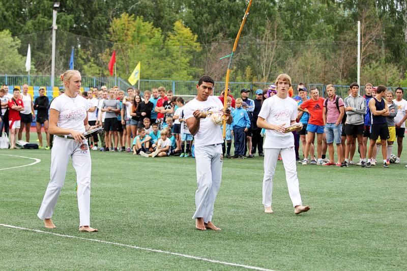 День физкультурника в Калининском районе